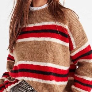 URBAN OUTFITTERS Boyfriend Striped Sweater